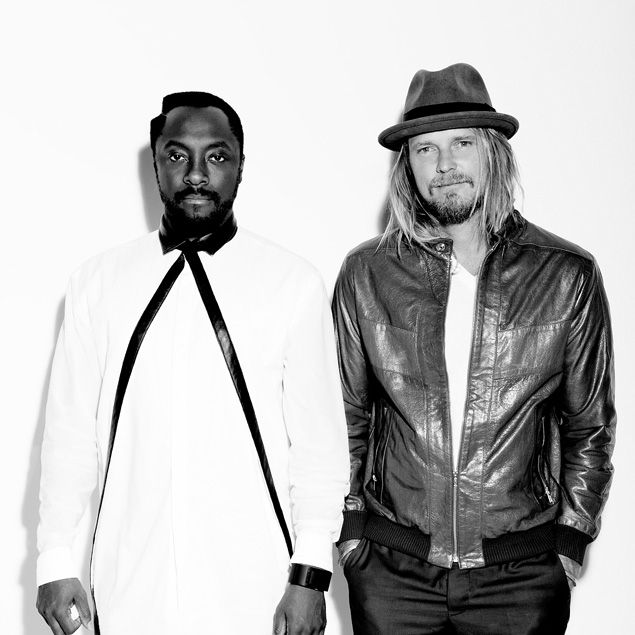 Will.I.Am and George Gorrow