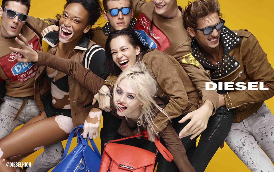 Diesel SS15 campaign