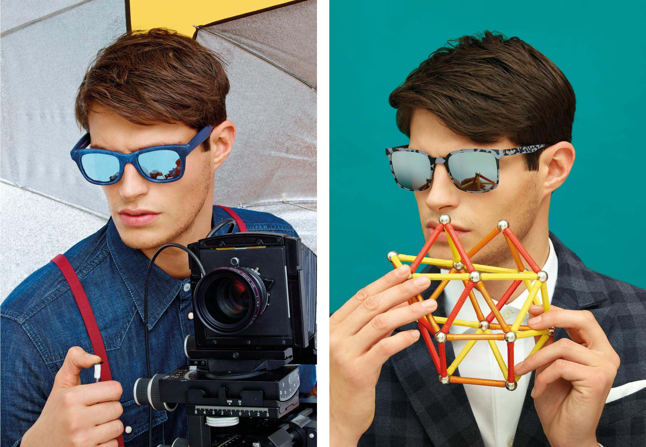 Italia Independent SS15 campaign