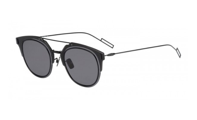 Dior Homme Composit Black, Grey Lenses