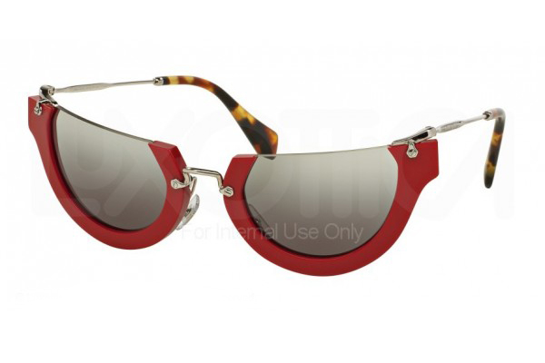 MIU MIU 11QS RASOIR in red