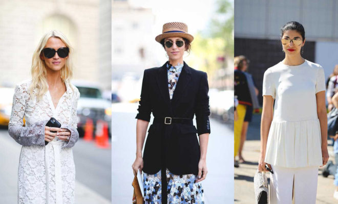 The best inspiration from New York Fashion Week