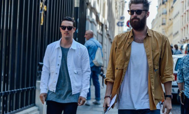 Street style inspiration for guys, courtesy of Tommy Ton