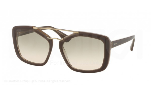 Prada 24RS COLOR: OPAL BROWN/BEIGE/OPAL BROWN (UED3H2)