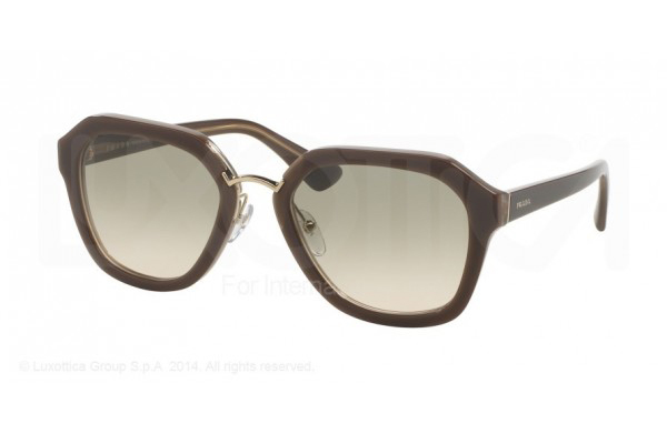 PRADA 25RS COLOR: OPAL BROWN/BEIGE/OPAL BROWN (UED3H2)