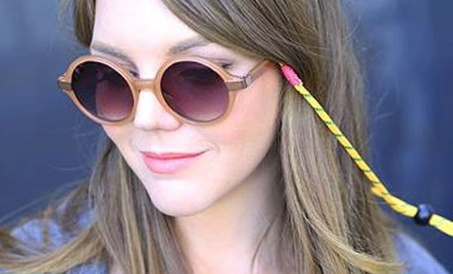 Make your own sunglasses strap