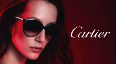 Cartier sunnies for a chic winter