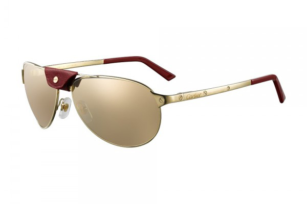 CARTIER SANTOS-DUMONT IN BRUSHED CHAMPAGNE GOLD FINISH