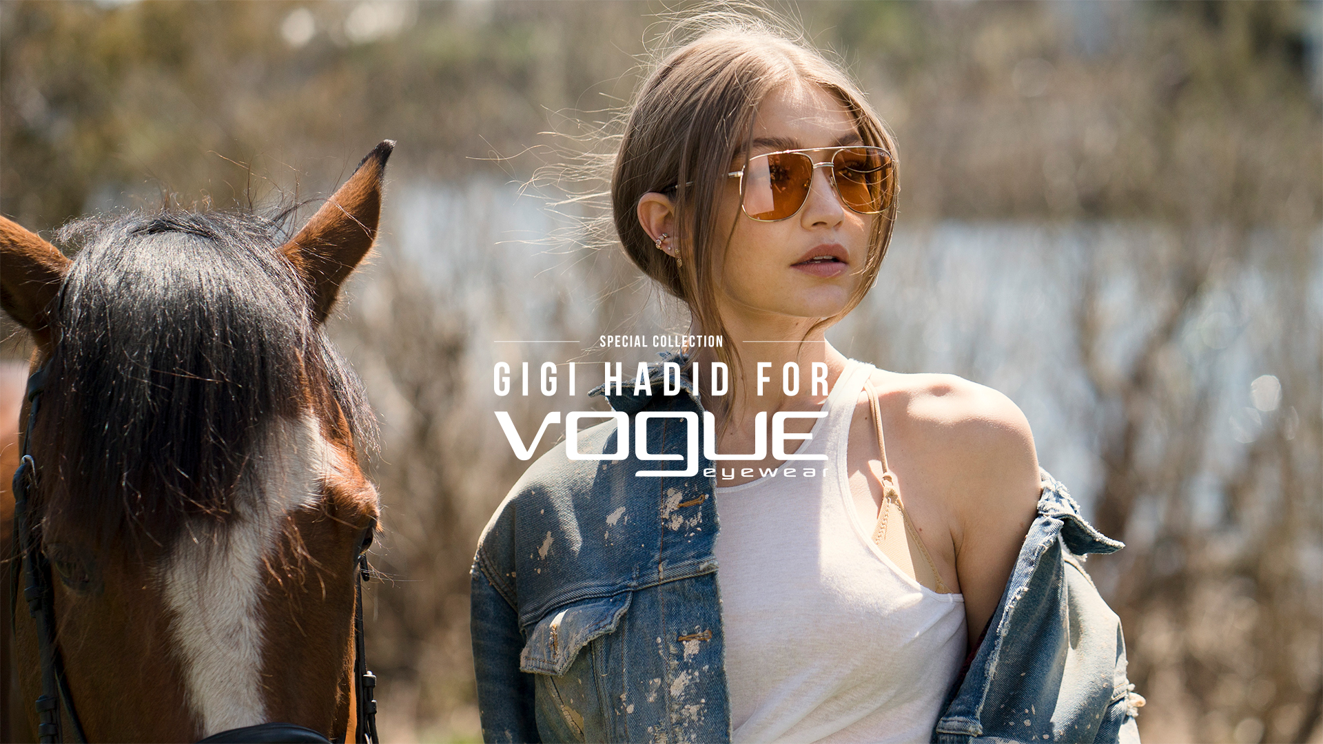 0e2281cd4d Vogue Eyewear Special Collection designed by Gigi Hadid - OnlyLens