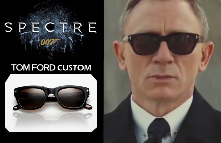 James Bond Tom Ford sunglasses